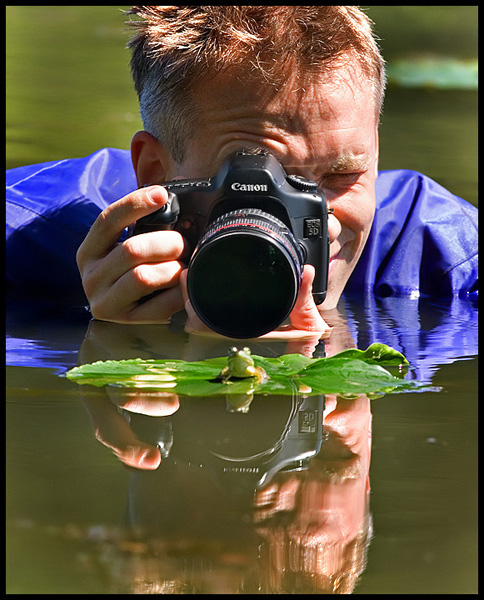 canon 5d and frog