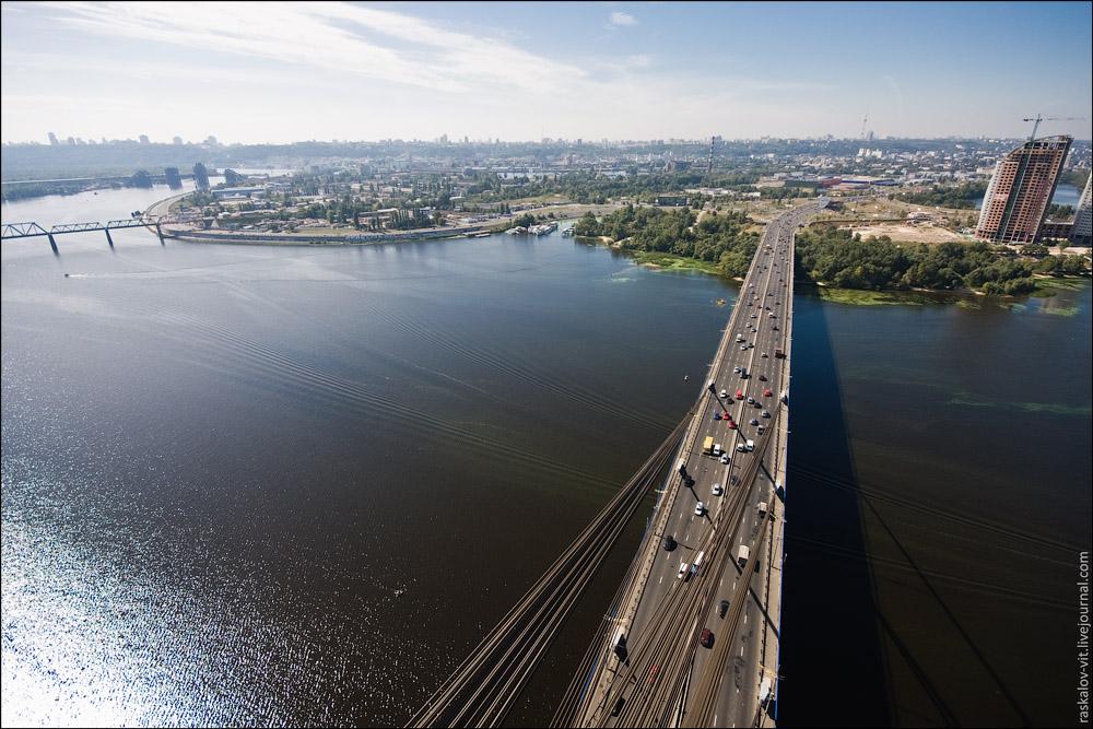 Московский мост, Киев / Мовсковський міст, Київ
