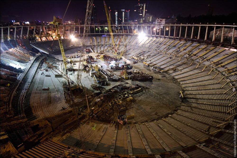 Олимпийский стадион, Киев / Олімпійський стадіон, Київ