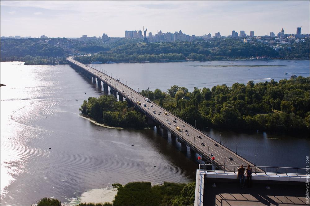Мост Патона, Киев / Міст Патона, Київ
