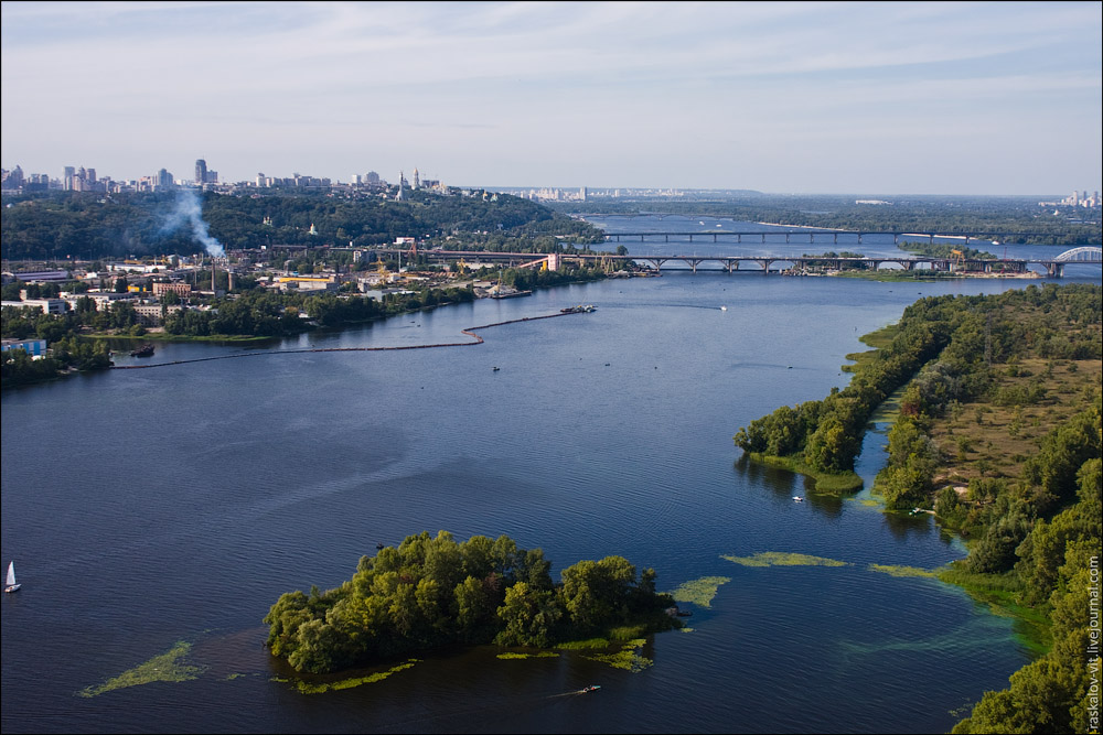 Южный мост, Киев / Південний міст, Київ