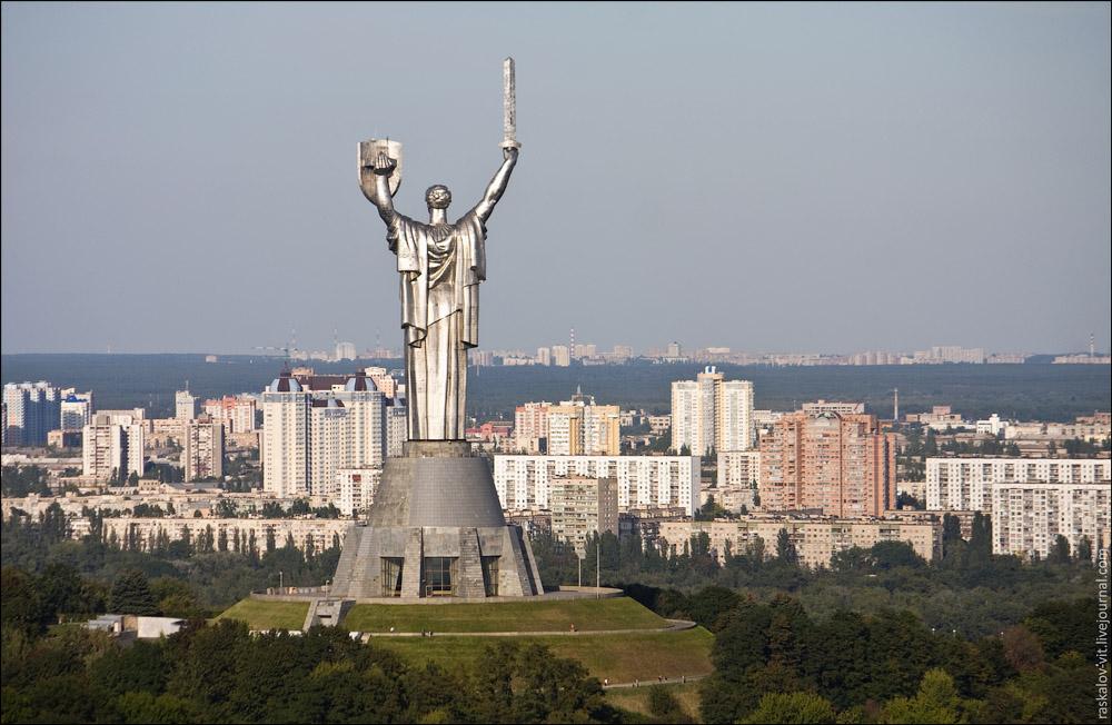 Родина Мать, Киев