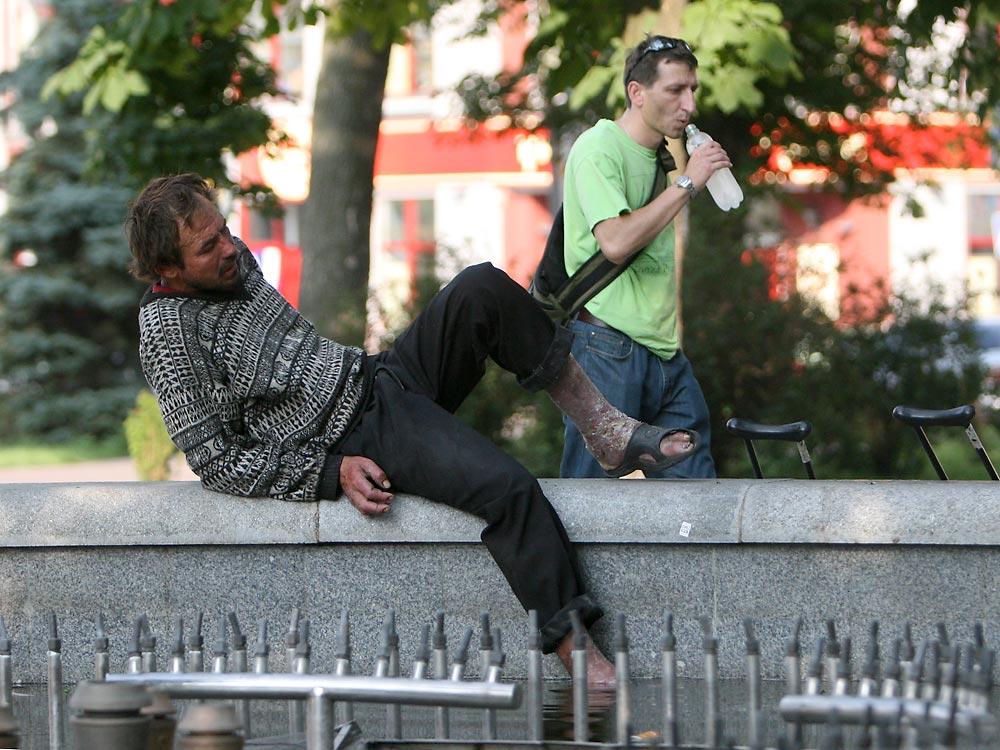київські фонтани